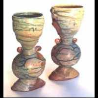 skirted vases